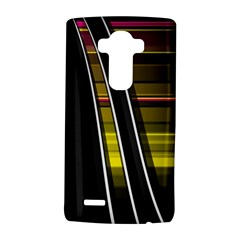 Abstract Multicolor Vectors Flow Lines Graphics LG G4 Hardshell Case