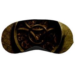 Abstract Steampunk Textures Golden Sleeping Masks