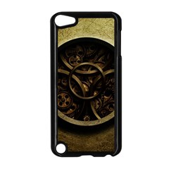 Abstract Steampunk Textures Golden Apple iPod Touch 5 Case (Black)