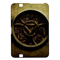 Abstract Steampunk Textures Golden Kindle Fire HD 8.9
