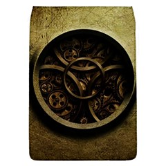 Abstract Steampunk Textures Golden Flap Covers (L)