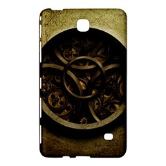Abstract Steampunk Textures Golden Samsung Galaxy Tab 4 (8 ) Hardshell Case