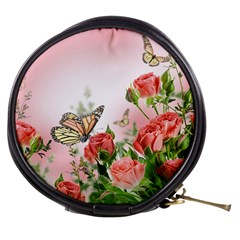 Flora Butterfly Roses Mini Makeup Bags