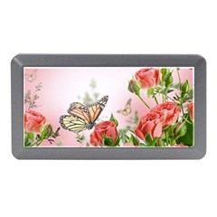 Flora Butterfly Roses Memory Card Reader (mini)