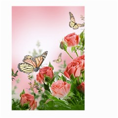 Flora Butterfly Roses Large Garden Flag (two Sides)