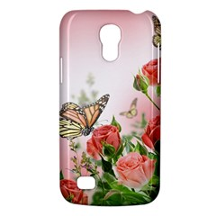 Flora Butterfly Roses Galaxy S4 Mini