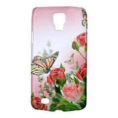 Flora Butterfly Roses Galaxy S4 Active