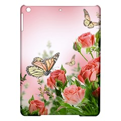 Flora Butterfly Roses Ipad Air Hardshell Cases