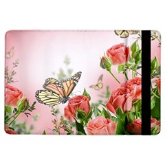 Flora Butterfly Roses Ipad Air Flip