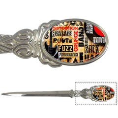 Guitar Typography Letter Openers