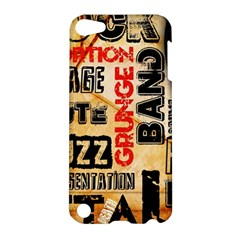 Guitar Typography Apple iPod Touch 5 Hardshell Case