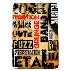Guitar Typography Flap Covers (L)