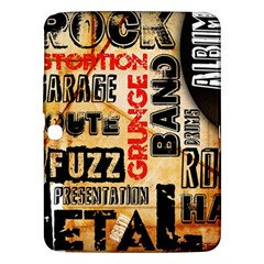 Guitar Typography Samsung Galaxy Tab 3 (10.1 ) P5200 Hardshell Case