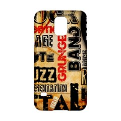 Guitar Typography Samsung Galaxy S5 Hardshell Case