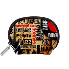 Guitar Typography Accessory Pouches (small)