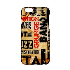 Guitar Typography Apple Iphone 6/6s Hardshell Case