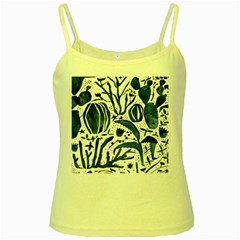 Art And Light Dorothy Yellow Spaghetti Tank