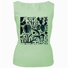 Art And Light Dorothy Women s Green Tank Top