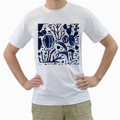 Art And Light Dorothy Men s T-Shirt (White) (Two Sided)