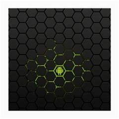 Green Android Honeycomb Gree Medium Glasses Cloth