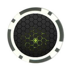 Green Android Honeycomb Gree Poker Chip Card Guard