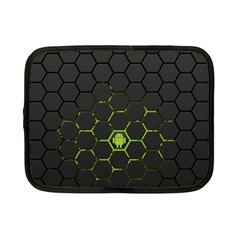 Green Android Honeycomb Gree Netbook Case (small)