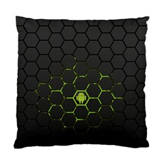 Green Android Honeycomb Gree Standard Cushion Case (One Side)