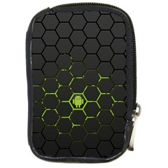 Green Android Honeycomb Gree Compact Camera Cases