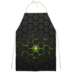 Green Android Honeycomb Gree Full Print Aprons
