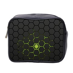 Green Android Honeycomb Gree Mini Toiletries Bag 2-Side