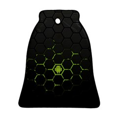 Green Android Honeycomb Gree Ornament (Bell)