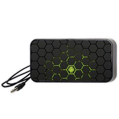 Green Android Honeycomb Gree Portable Speaker (Black)