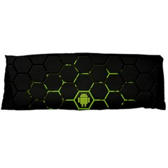 Green Android Honeycomb Gree Body Pillow Case Dakimakura (two Sides)
