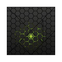 Green Android Honeycomb Gree Acrylic Tangram Puzzle (6  X 6 )