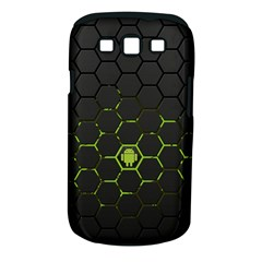 Green Android Honeycomb Gree Samsung Galaxy S III Classic Hardshell Case (PC+Silicone)