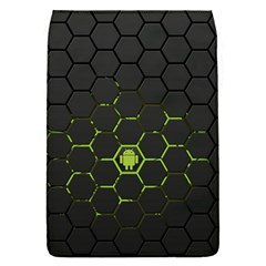 Green Android Honeycomb Gree Flap Covers (S)