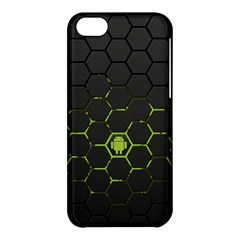 Green Android Honeycomb Gree Apple Iphone 5c Hardshell Case