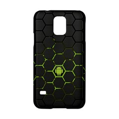 Green Android Honeycomb Gree Samsung Galaxy S5 Hardshell Case