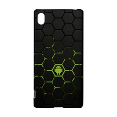 Green Android Honeycomb Gree Sony Xperia Z3+