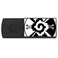 Maya Calendar Native American Religion Usb Flash Drive Rectangular (4 Gb)