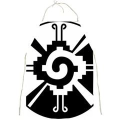 Maya Calendar Native American Religion Full Print Aprons