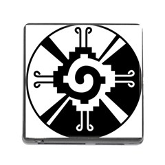 Maya Calendar Native American Religion Memory Card Reader (square)