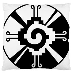 Maya Calendar Native American Religion Large Flano Cushion Case (Two Sides)