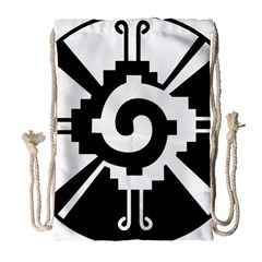 Maya Calendar Native American Religion Drawstring Bag (Large)