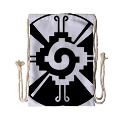 Maya Calendar Native American Religion Drawstring Bag (Small)