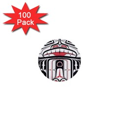 Ethnic Traditional Art 1  Mini Buttons (100 Pack)