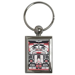 Ethnic Traditional Art Key Chains (rectangle)
