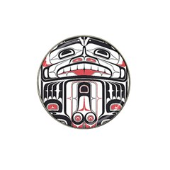 Ethnic Traditional Art Hat Clip Ball Marker