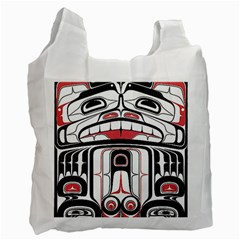 Ethnic Traditional Art Recycle Bag (Two Side)