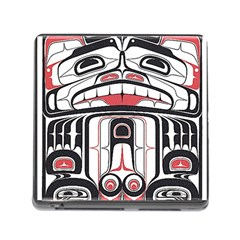 Ethnic Traditional Art Memory Card Reader (square)